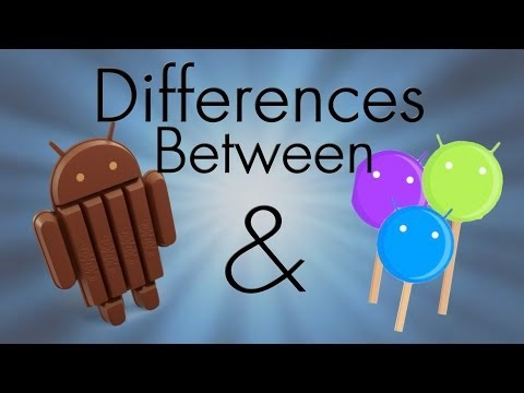 Differences Between KITKAT & Android L