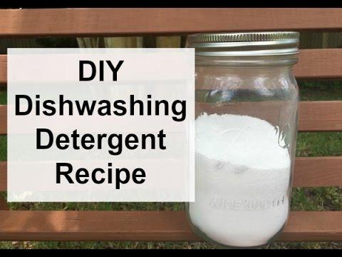 DIY Dish Detergent (Powder Dishwash Detergent)
