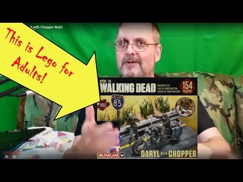 Walking Dead Daryl with Chopper Build