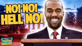 KANYE WEST TO RUN FOR PRESIDENT IN 2020 | Double Toasted