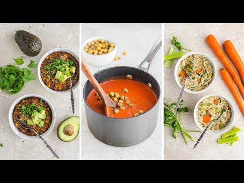 Easy Vegan Soup Recipes (Cozy & Healthy) 🍲