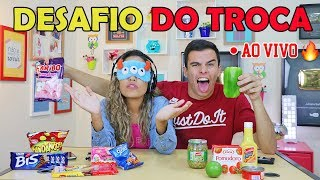 DESAFIO DO TROCA - EXPLICANDO O VÍDEO DE ONTEM! - AO VIVO