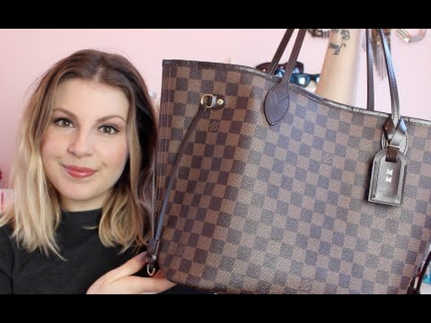 What's In My Carry On / LV Neverfull MM Review