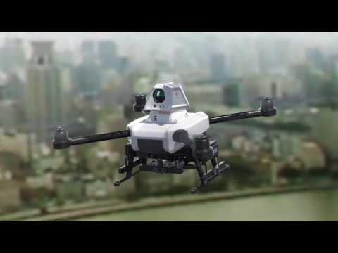 HeSai Gas-leak finding drone