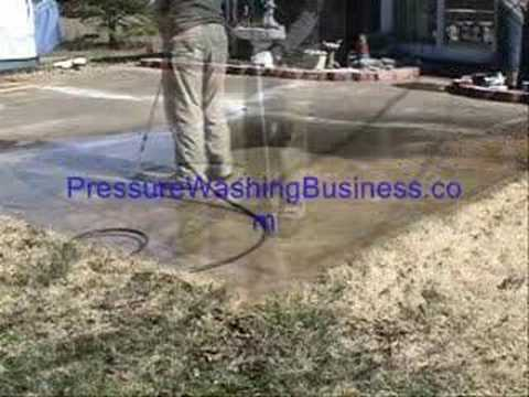 Pressure Washing Business Instructions and Software