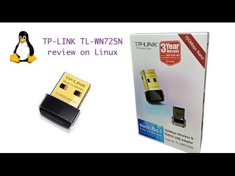 Review TP-LINK TL-WN725N v2 on Linux