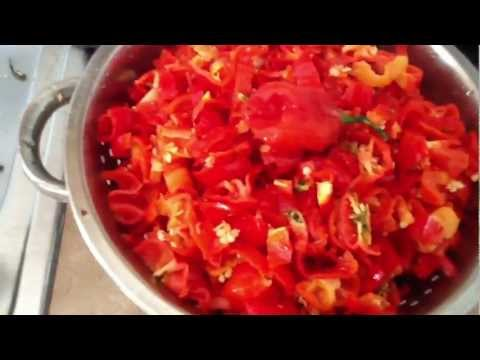 Hot fried pepper