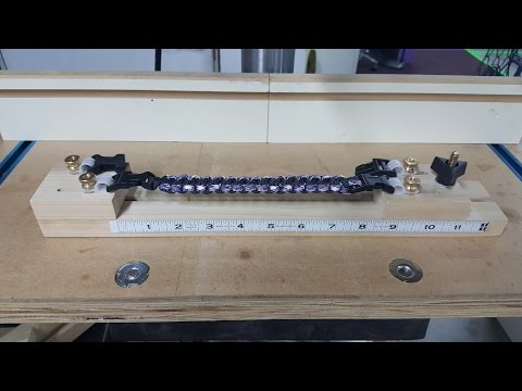 Paracord Jig - How to Make Your Own