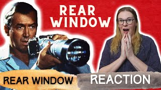 REAR WINDOW (1954) REACTION VIDEO! FIRST TIME WATCHING!
