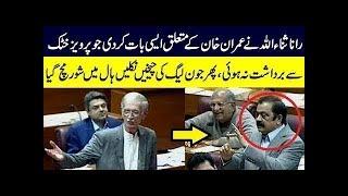 Pervez Khattak Best Reply to Rana Sanaullah in National Assembly   TPN