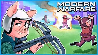Modern Warfare but we're only using the new crossbow...