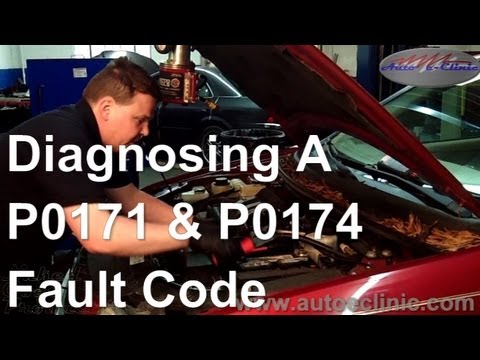 How to Diagnose OBD II Fault Codes P0171 and P0174 Leaking Intake and EGR Valve (06 Ford Freestyle)