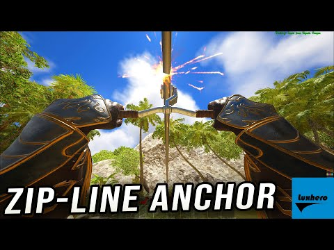 Atlas - How to Craft & Use Zip-Line Anchor