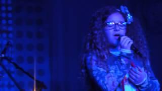 """Chiara Giovanelli in """"Allelujah""""  ospite delle """"Voci in Castello"""" - Calepio - 01/06/2014"""