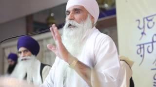 Sant Baba Hari Singh ji Randhave Wale- Katha Day 1 (Slok M9 History).mp4