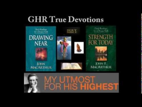 Daily Devotional Readings for May 31 2012