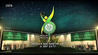 ISPR has released a new song on the eve of 6th Sep Defence Day
