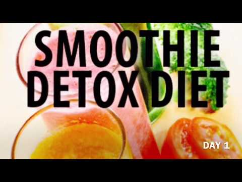 Detox Smoothie Diet Day 1/HOW TO LOOSE 3kg WEIGHT IN ONE WEEK