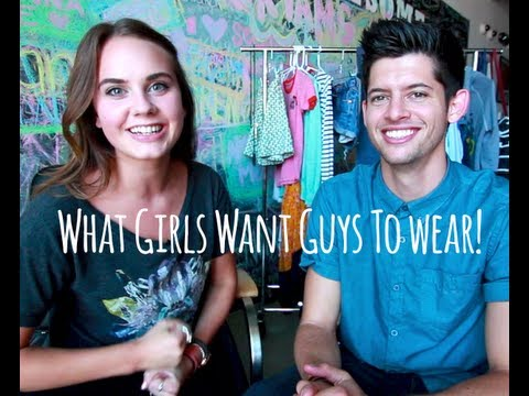 What clothes GIRLS want GUYS to wear w/ Hunter March!!