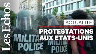 Mort de George Floyd: des milliers de manifestants genoux à terre