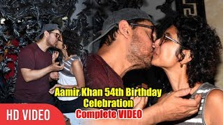 Aamir khan 54th Birthday Celebration with Wife Kiran Rao | FULL VIDEO