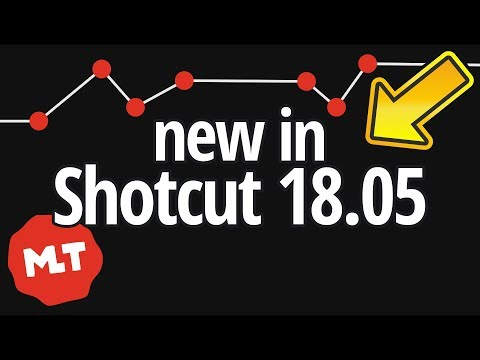 Shotcut 18.05 News: Keyframes, Surround Sound, Performance and more