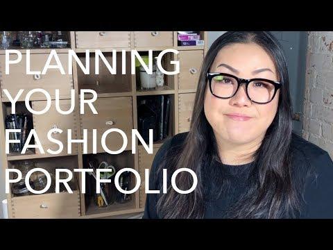 Fashion Portfolios 1: Planning What to Design