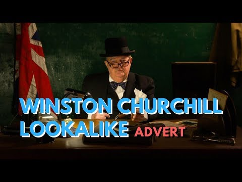 Winston Churchill Lookalike // Book Now At Warble Entertainment