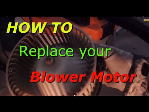 How to replace the blower motor and speed resister on a 1995 Toyota 4runner. T100 Truck
