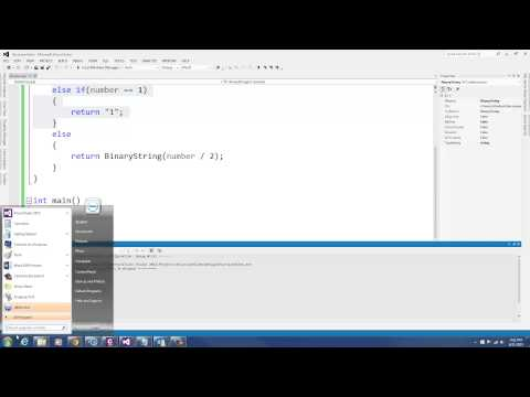C++ Programming: Convert Integer into Binary using Recursion
