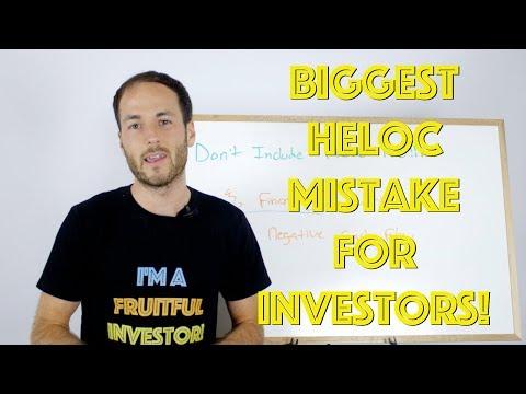 Biggest HELOC Mistake For Real Estate Investors