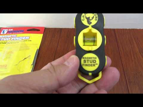 Review of CH Hanson Magnetic Stud Finder