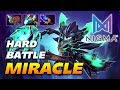Miracle Outworld Devourer Hard Game Even For Legend Dota 2 Pro Gameplay