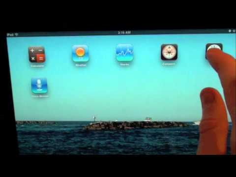 Install iPhone Stock Apps on iPad Cydia Tweak Review