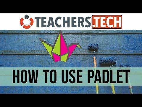 Learn Padlet - NEW! Tutorial