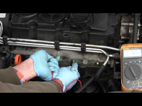 How to replace a glow plug on a diesel TDI