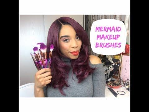 Mermaid MakeUp Brushes Review