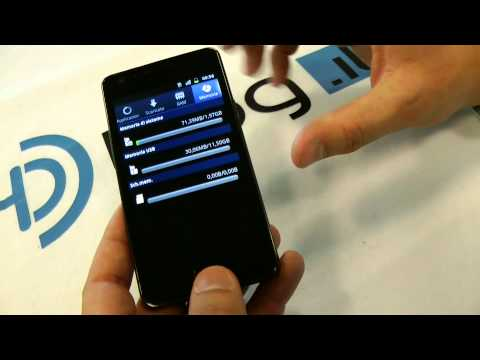 Samsung Galaxy S2 RAM Info e Hardware tour ENG