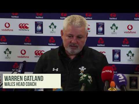 Gatland: 'I don't care' how England v Ireland goes