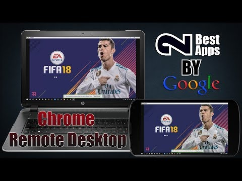 | Remotely Control Windows/Mac Using IOS/Android | Chrome Remote Desktop | 2 Best Apps By Google |