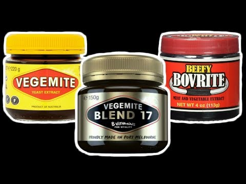 Let's Try Vegemite!! - Concentrated YEAST Extract! - WHAT ARE AUSSIES EATING?? - The Wolfe Pit