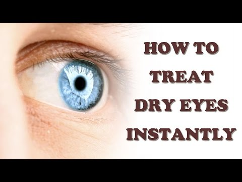Dry Eyes Cure - How to Cure Dry Eyes Naturally - Dry Eyes Treatment