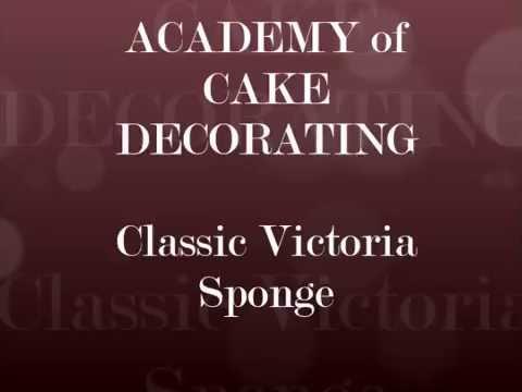 Let's bake! Classic Victoria sponge
