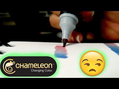 ARE THEY A GIMMICK??   Chameleon Color Changing Markers