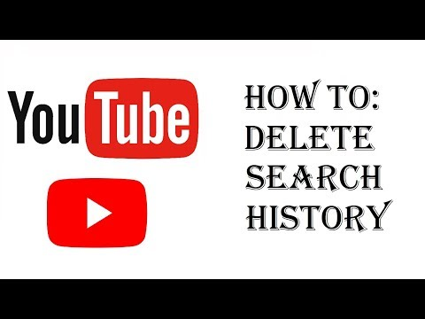 How To Delete Youtube Search History - Delete Youtube Searches iPhone/Android/mobile/iPad/Tablet