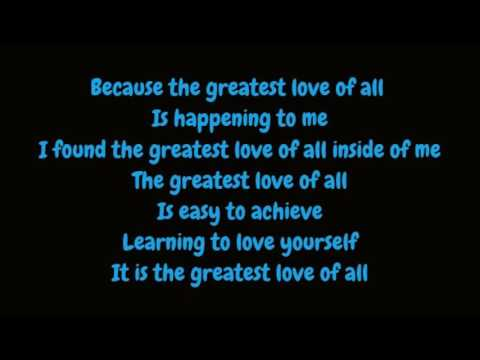 Whitney Houston   Greatest Love Of All Lyrics HD