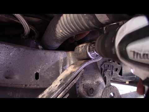 Quick leaf spring & shackle bushing removal without torch or heat