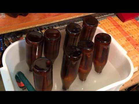 Beer bottle washer