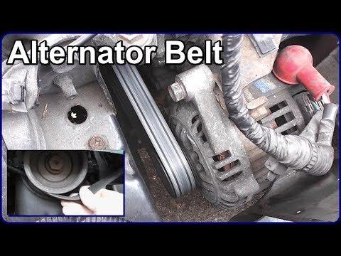Alternator Belt Renewal