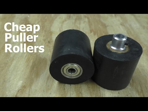Making Puller Rollers on the Cheap - Filament Extruder #5